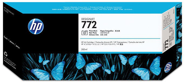 Картридж HP Pigment Ink Cartridge №772 Black (CN633A)