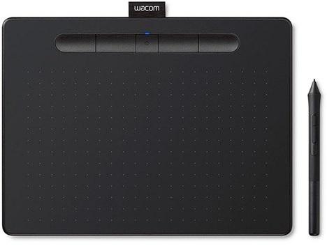 Intuos S, черный (CTL-4100K-N) планшет wacom intuos comic pen