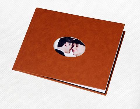 Unibind альбомная 5 мм, песочный корпус с окном №5