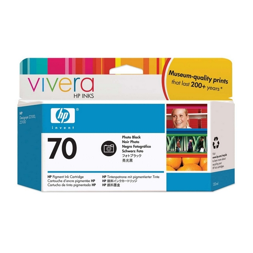 Картридж HP Pigment Ink Cartridge №70 Black (Z2100/3100/3200) (C9449A)