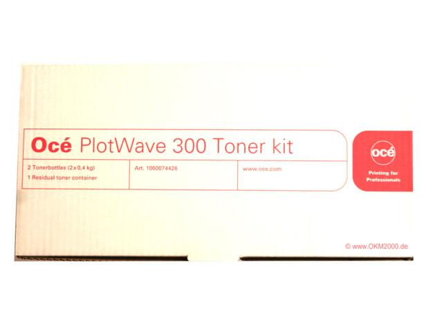 Тонер для плоттера PlotWave 300 / 350 (2х0.4 кг) (6826B001 / 1060127660) цена и фото