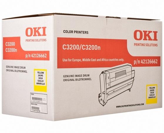 OKI EP-CART-Y-C32/3200N (42126662) oki ep cart c c931 45103715