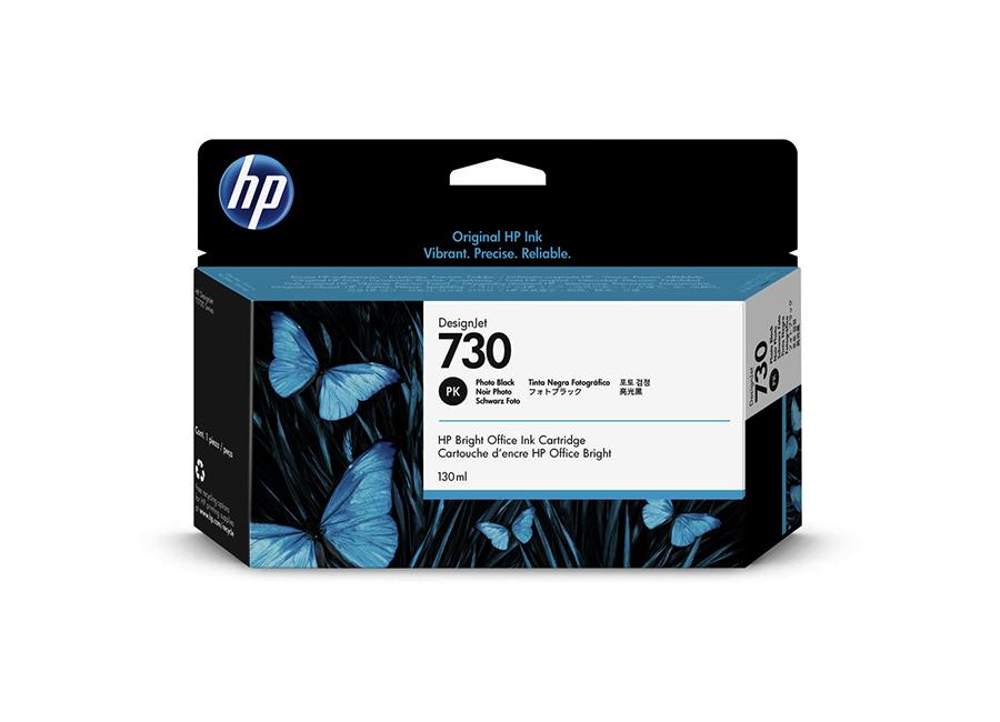 Картридж HP Designjet 730 фото черный (Photo black) 130 мл (P2V67A) чернильный картридж hp 130 c8767he black