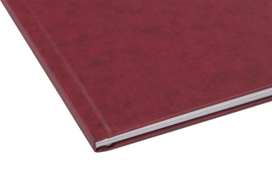Папка для термопереплета , твердая, 40, бордовая папки канцелярские pierre cardin папка каталог 40 листов geometrie pink