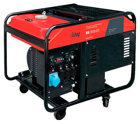 Бензиновый генератор_Fubag BS 9500 ES