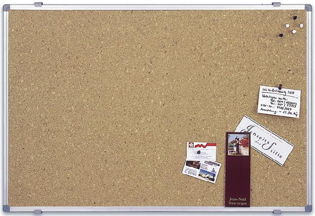 Пробковая доска_Magnetoplan SP 120 х 90 см с алюминиевой рамкой Компания ForOffice 3098.000