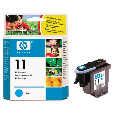 Печатающая головка HP Printhead №11 Cyan (C4811A) hp c4811a 11 printhead cyan для dj 2200 2250