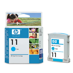 Картридж HP Inkjet Cartridge №11 Cyan (C4836A) картридж hp inkjet cartridge 90 black c5058a