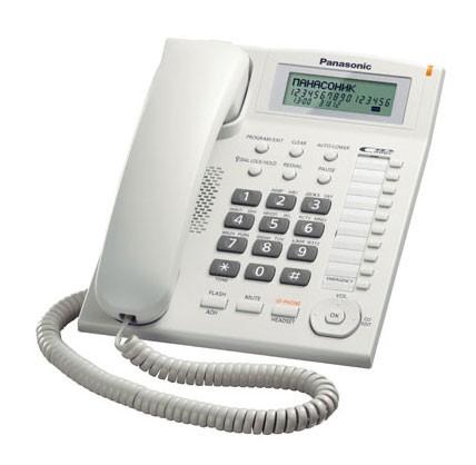 Проводной телефон_Panasonic KX-TS2388RUW Компания ForOffice 1461.000