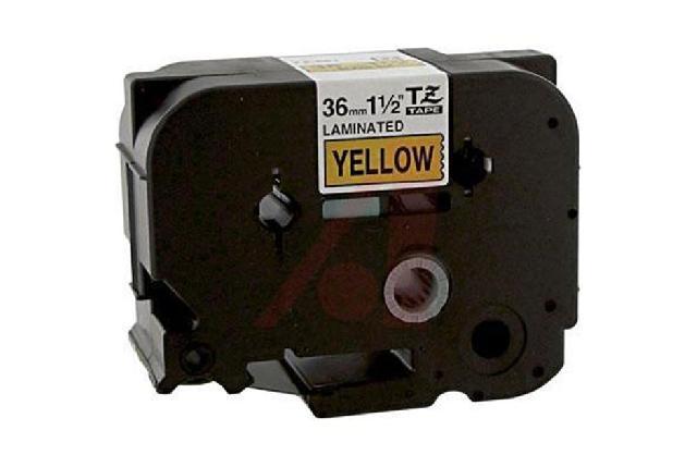 Плёнка для наклеек TZE-661 плёнка для наклеек brother tze 661 чёрный шрифт на жёлтой основе 36мм 8м