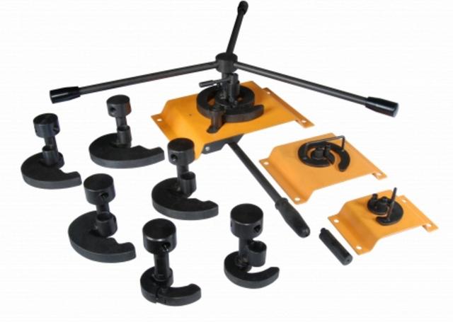 Инструменты M3-V9 для гибки завитков (9шт) станок ручной для гибки blacksmith mb10 6