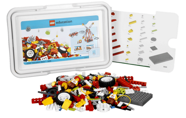Ресурсный набор Lego Education WeDo декорации lego education 9385 4