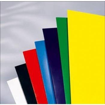Обложка картонная, Глянец, A4, 250 г/м2, Синий, 100 шт