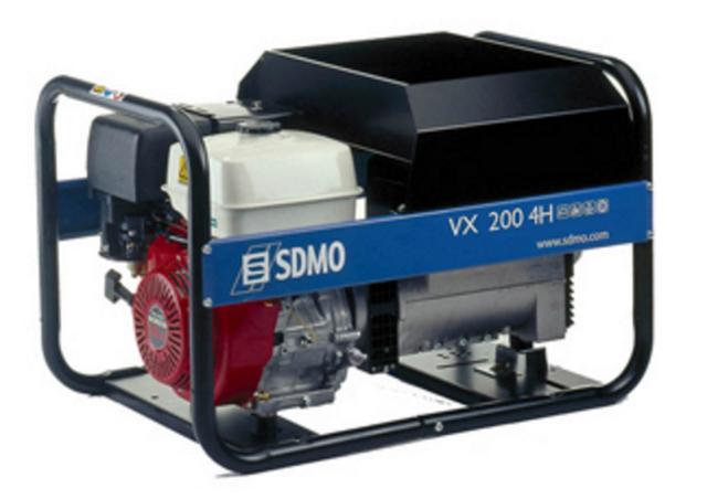 VX 200/4H-S sdmo vx 220 7 5h s