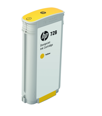 Картридж HP 728 F9J65A (yellow), 130 мл hp designjet t830 36 f9a30a