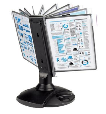 Настольная система   Office вращающаяся (A4, черная)