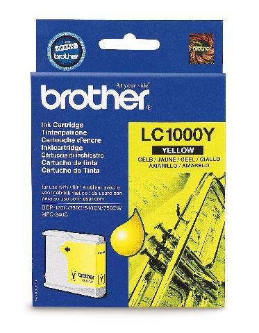 Картридж Brother LC1000Y