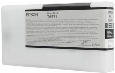Картридж с чернилами фото чернилами T6531 (C13T653100) new 4900 compatible cartridge for epson t6531 t6539 t653a t653b refillable ink cartridge for epson stylus pro 4900 with arc chip