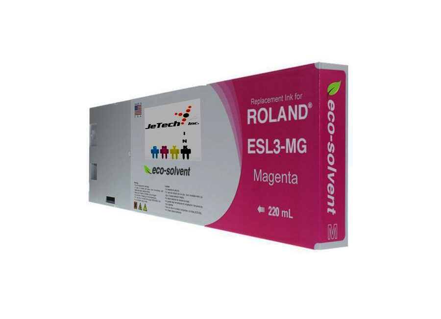 Eco-Solvent Magenta 220 мл (ESL3-MG) solvent based unlocked dx7 print head for epson mimaki mutoh roland chinese eco solvent plotter printer