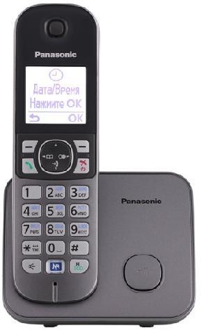 Радиотелефон_Panasonic KX-TG6811RUM