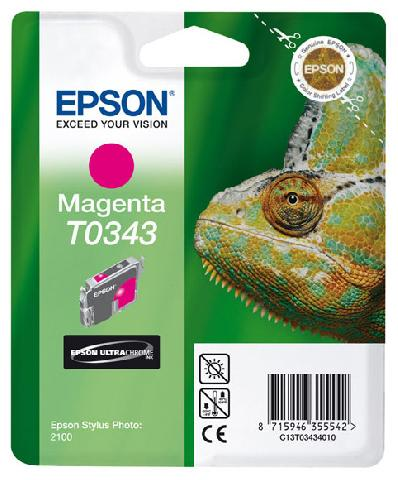 Картридж с пурпурными чернилами   T0343 для SP2100 (C13T03434010)
