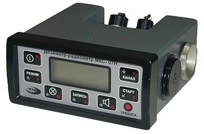 Пульт дозиметра-радиометра ПТФМ МКС-07Н