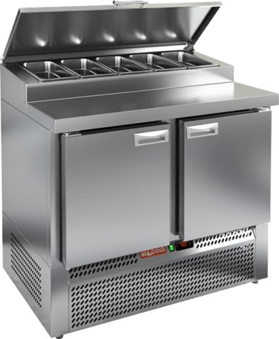 Стол охлаждаемый для пиццы_HICOLD PZE1-11GN (1/3)