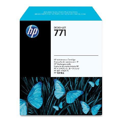 Картридж для обслуживания HP 771 Designjet (CH644A) hp designjet t120