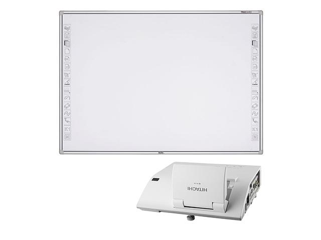 Интерактивная доска R3-800 + проектор Hitachi CP-AW251 matsushita panasonic pt ww3600 домашнего офиса проектор hd проектор 3600 люменов разрешение hdmi wxga широкоэкранный