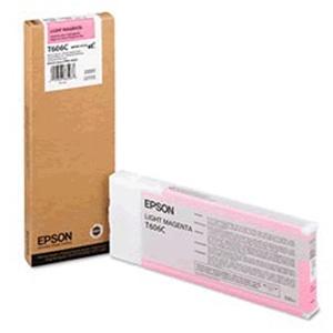Картридж повышенной емкости со светло-пурпурными чернилами T606C (C13T606C00) картридж c13t606900 epson для stylus pro 4880 220 мл светло светло черный c13t606900
