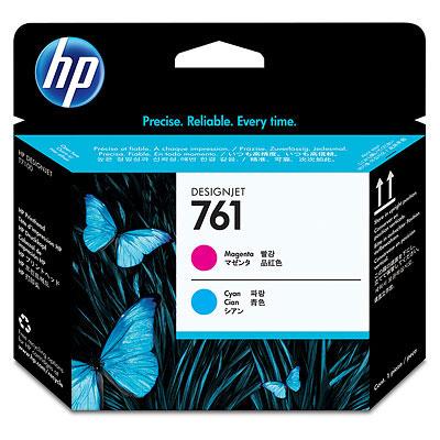 Купить Печатающая головка HP №761 Designjet Magenta & Cyan (CH646A) в официальном интернет-магазине оргтехники, банковского и полиграфического оборудования. Выгодные цены на широкий ассортимент оргтехники, банковского оборудования и полиграфического оборудования. Быстрая доставка по всей стране