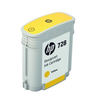 HP DesignJet 728 Yellow 40 мл (F9J61A ) плоттер hp designjet t830 36 f9a30a