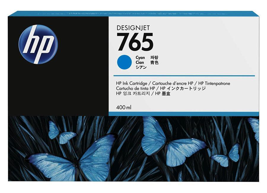 HP DesignJet 765 Cyan 400 мл (F9J52A) hp designjet t830 36 f9a30a