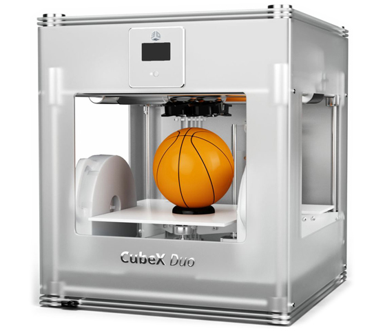 3D принтер_3D Systems CubeX Duo Компания ForOffice 143750.000