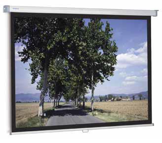 Проекционный экран_Projecta SlimScreen 180x180 Matte White (44086)