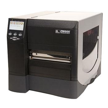 Принтер этикеток Zebra ZM600 300dpi (ZM600-300E-1000T) с ножом и накопителем