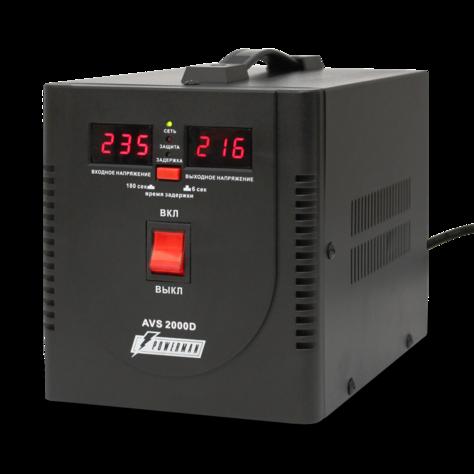 Стабилизатор напряжения_Powerman  AVS 2000D black