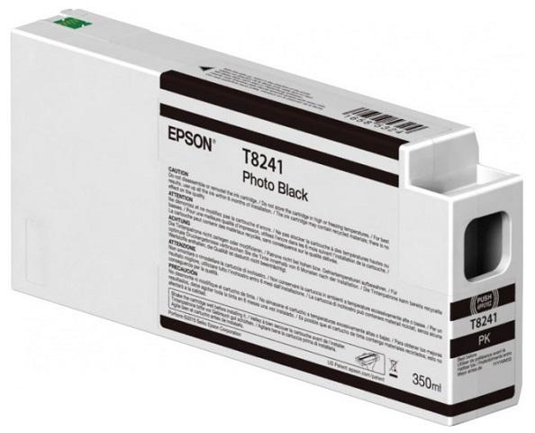 Картридж с черными фото чернилами T8241 (C13T824100)