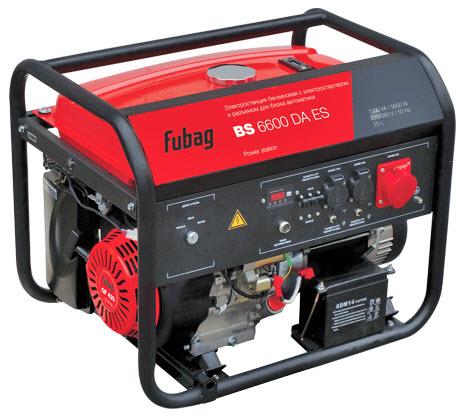 Бензиновый генератор_Fubag BS 6600 DA ES