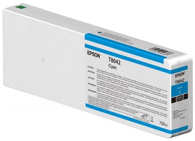T8042 Cyan 700 мл (C13T804200) принтер epson surecolor sc p9000 std c11ce40301a0