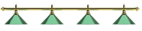 Светильник Evergreen D35 (зеленый, 4 пл.)