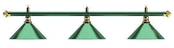 Светильник Allgreen D35 (зеленый, 3 пл.)