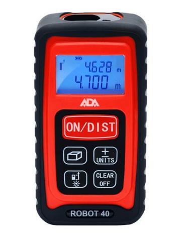 Купить Лазерный дальномер ADA Robot 40 в официальном интернет-магазине оргтехники, банковского и полиграфического оборудования. Выгодные цены на широкий ассортимент оргтехники, банковского оборудования и полиграфического оборудования. Быстрая доставка по всей стране