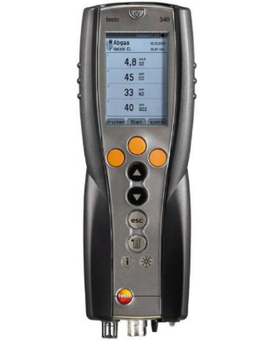 Анализатор дымовых газов Testo 340 трехсенсорный комплект без зонда