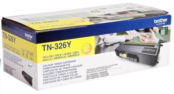 Тонер-картридж   TN-326Y brother tn 326y yellow