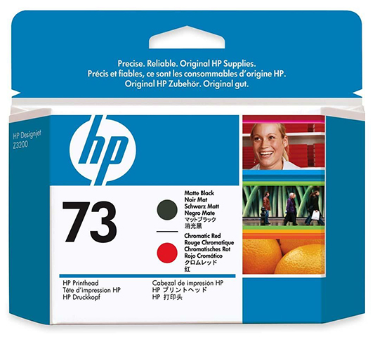 Печатающая головка HP Print Head №73 Matte Black & Chromatic Red (CD949A) печатающая головка hp print head 70 blue