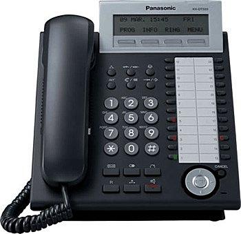 Системный телефон_Panasonic KX-DT333RUB Компания ForOffice 3853.000