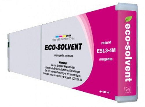 ECO-Solvent Magenta 440 мл (ESL3-4MG) solvent based unlocked dx7 print head for epson mimaki mutoh roland chinese eco solvent plotter printer