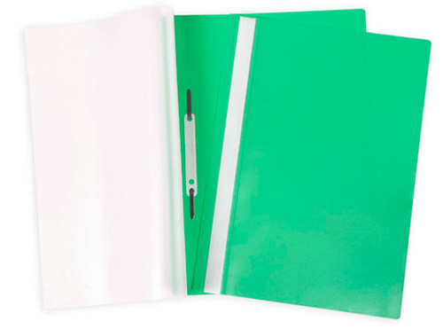 Папка-скоросшиватель A4 Attache с прозрачным верхом, зеленая Компания ForOffice 7.000