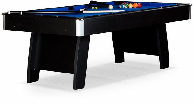 Бильярдный стол_Американский пул Riga (8 футов, черный)
